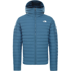 The North Face Stretch Down Hoodie Jacket Men mallard blue